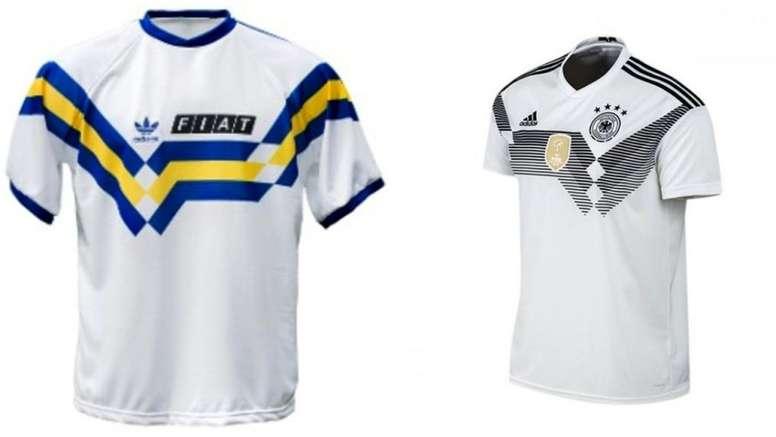Filtran detalles sobre una de las próximas camisetas de Boca. Twitter
