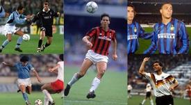 Los grandes fichajes en la historia de la Serie A. AFP/EFE