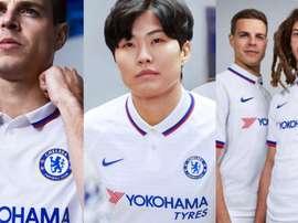 Chelsea divulga o seu segundo uniforme para a temporada. ChelseaFC