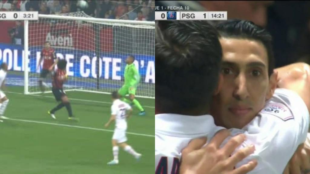 Di María e Icardi marcaron en la victoria del PSG