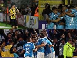 Estos equipos pelearán por la Conmebol Sudamericana. BeSoccer