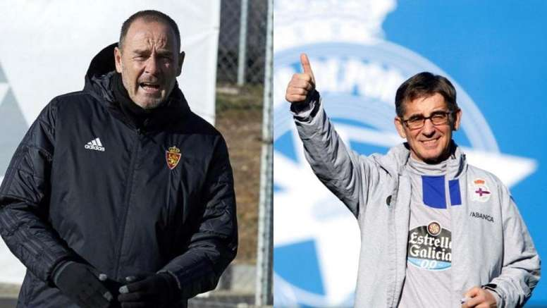 La rivalidad entre Víctor Fernández y Fernando Vázquez dura ya 25 años. RealZaragoza/EFE