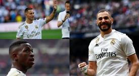 Zidane y los tres tenores. Montaje/BeSoccer
