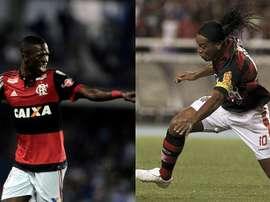 Certains grands joueurs ont évolué à Flamengo. Montage/BeSoccer