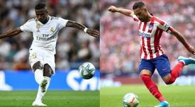 Vinicius y Renan Lodi podrían ir al preolímpico. EFE/AFP