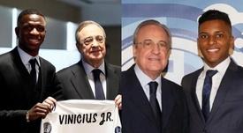 Vinicius vs. Rodrygo : les chiffres parlent. Montage/EFE/RealMadrid