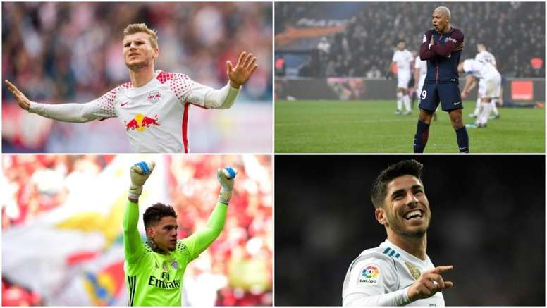 Werner, Mbappe, Asensio and Ederson all made the team. BeSoccer