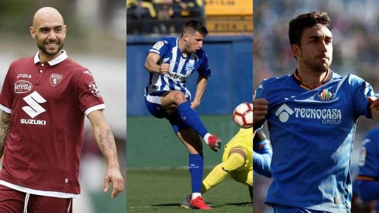 Zaza, Calleri y Mata, los preferidos del Espanyol. EFE/Torino