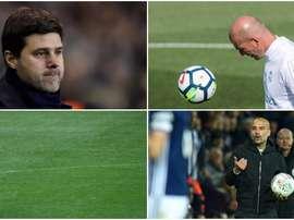Zidane, Guardiola, Conte y Pochettino, en el once ideal de la UEFA. BeSoccer