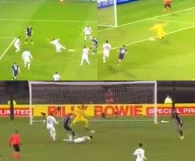 Cinco goles en dos partidos para James Forrest. Captura/SkySports