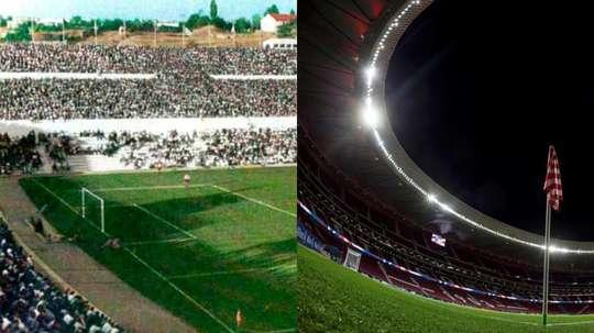 El Oviedo 'vuelve' al Metropolitano 52 años después. EFE