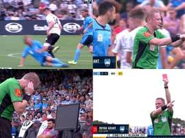 The A-League broadcast the VAR audio just 5-10 minutes after the match. Captura/FOXSports