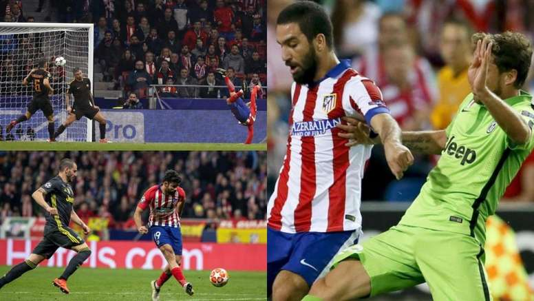 Les cinq dernières confrontations entre l'Atlético Madrid et le 'Calcio'. BeSoccer/EFE/AFP