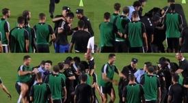 Cristiano Ronaldo fait des siennes. Capture/goal