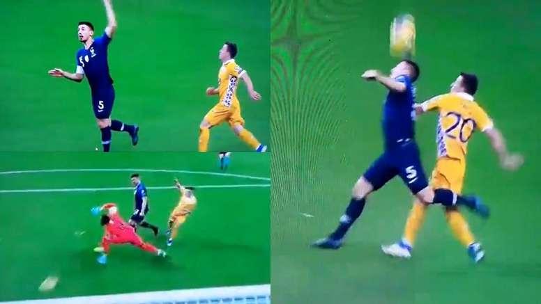 Rata ha segnato il goal del vantaggio. UEFATV