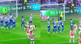 El 'Cocodrilo 2.0': Huntelaar, Tadic y el gol curioso de la jornada. Capturas