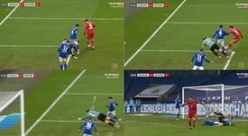 Lewandowski scores for 8th away match in a row. Screenshot/Eleven2