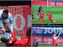 Verratti aprovechó la buena de fe del portero rival para marcar el segundo gol de su equipo. EFE