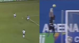 Gol inexplicable. BeSoccer/Captura