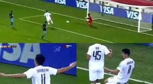 Time de Xaavi, Al Sadd marca o primeiro gol do Mundial. Captura/ThreeTV
