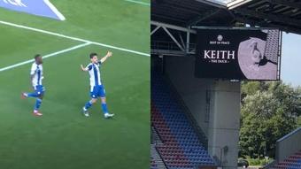 El Wigan recordó ¡al pato fallecido de un aficionado! Captura/Portsmouth/ÁlvaroRam1rez