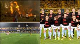 El fútbol rindió su pequeño homenaje a los valientes que luchan por salvar sus raíces. EFE
