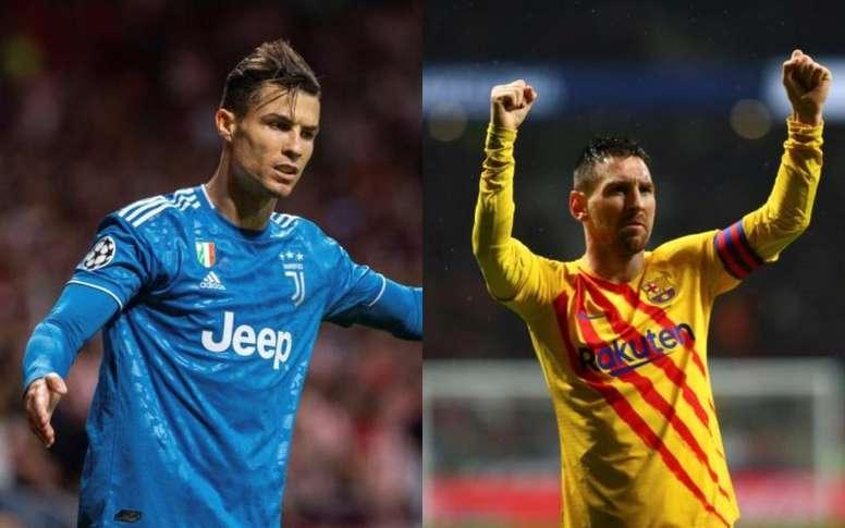 Pourquoi Messi et pas Cristiano ? Montage/EFE