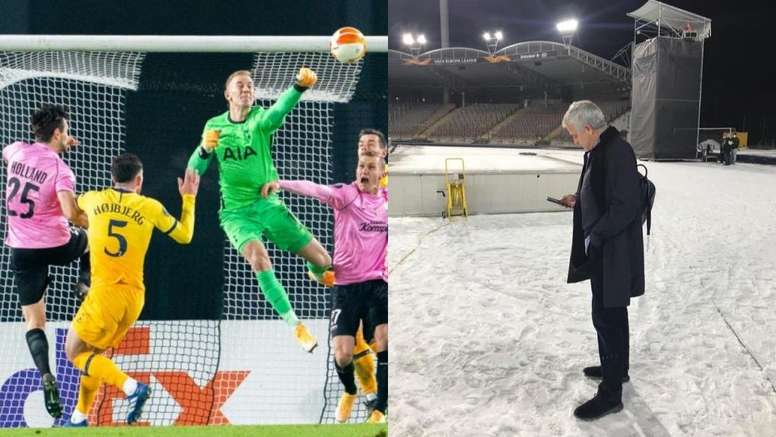 La estampa navideña de Mourinho que arrasa en Instagram. AFP/Instagram/JoseMourinho