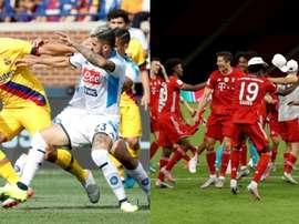 Il Bayern, possibile avversaria del Napoli. AFP