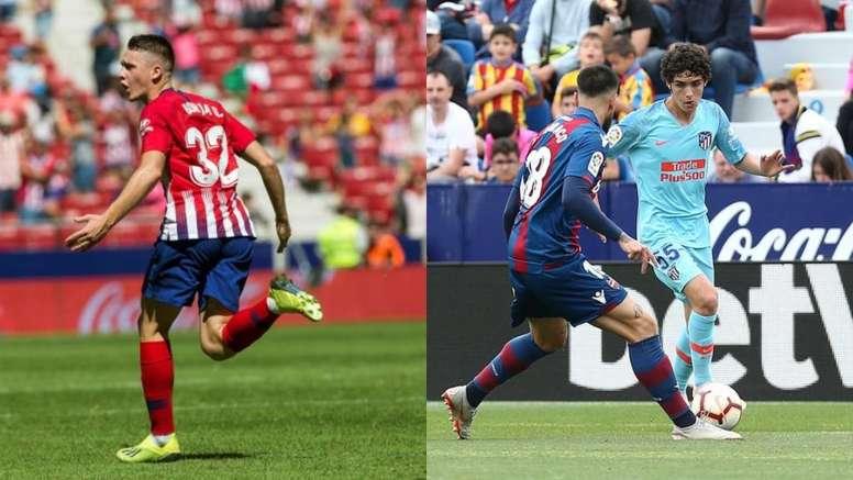 Primero fue Garcés, ahora Camello: este Atlético tiene el futuro asegurado. EFE/Atleti