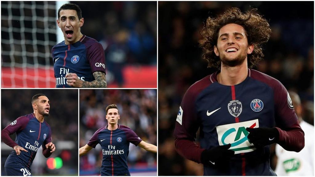 PSG borra al Montpellier, Neymar imparable, Cavani impone record — IMPRESIONANTE JORNADA