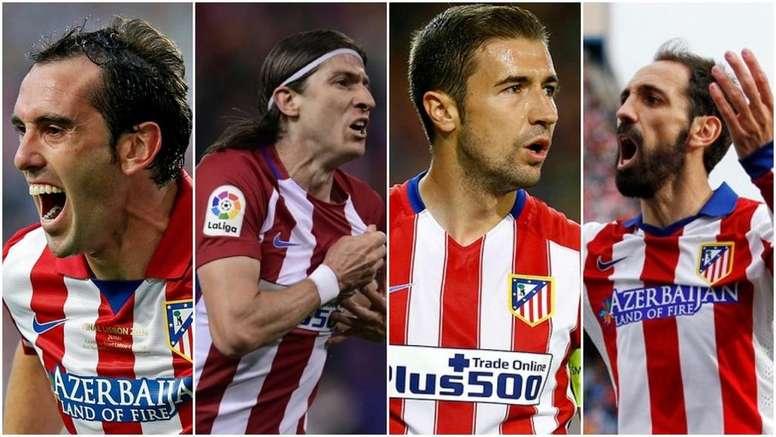 Estos cuatro hombres fueron titulares el día que el Atlético ganó su segunda Europa League. BeSoccer