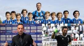 Godín, Ribery y Buffon aportarán experiencia en Italia. Fiorentina/Inter/AFP