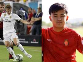 Kubo pourrait être le successeur d'Odegaard à la Real Sociedad. Capture/RCD_Mallorca. EFE