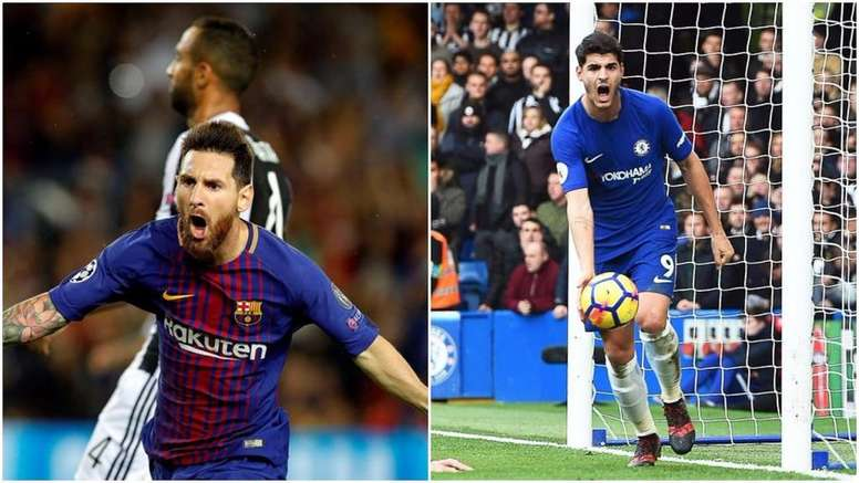 Messi can't be stopped, says Morata. BeSoccer
