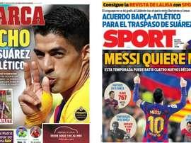 Portadas de la prensa deportiva del 23-09-20. Marca/Sport