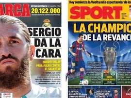 Portadas de la prensa deportiva del 20-10-20. Marca/Sport