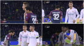 Alves denies what the cameras seem to have captured. BeSoccer