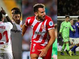 The LaLiga table is surprising. EFE