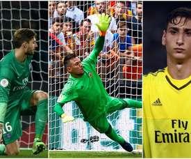 Trapp, Diego Alves y Donnarumma son algunos de los mejores 'para-penaltis' del momento. BeSoccer