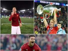 Xabi Alonso, Lahm e Totti, alguns dos jogadores que anunciaram sua retirada. BeSoccer