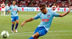 Montero debutó en partido oficial ante el Sant Andreu. Atlético