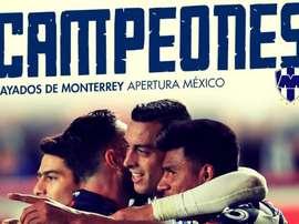 Les Rayados de Monterrey, champions du Mexique. BeSoccer
