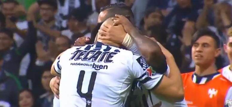 Monterrey ganó con solvencia a Pachuca. Captura/FOX