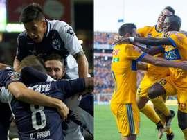 Monterrey y Tigres apostaron fuerte por la final continental. BeSoccer/EFE