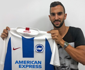 Montoya has signed a four-year deal. Twitter/OfficialBHAFC