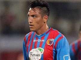 Monzón sera joueur du Catania jusqu'en 2017. Twitter