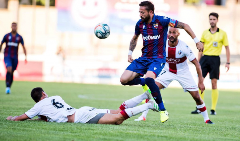 El Levante empató a uno ante el Huesca. LevanteUD