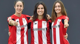 El Athletic renueva a tres pilares. Athletic