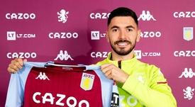 Sanson firma hasta 2025 con el Aston Villa. Twitter/AVFC